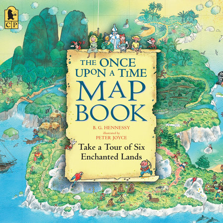 The Once Upon a Time Map Book Big Book by Barbara G. Hennessy