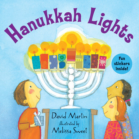 Hanukkah Lights by David Martin