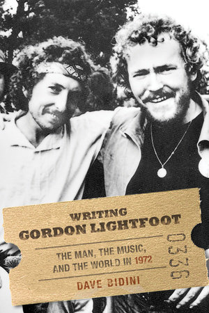 Writing Gordon Lightfoot by