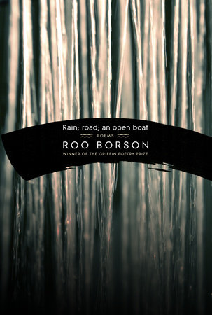 Rain; road; an open boat by