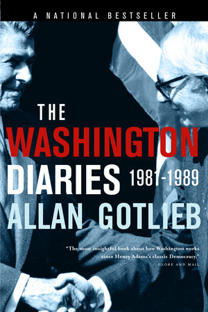 The Washington Diaries by Allan Gotlieb