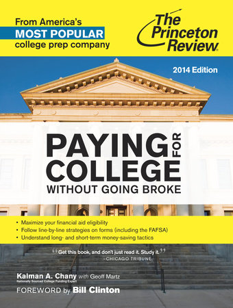 Paying for College Without Going Broke, 2014 Edition by
