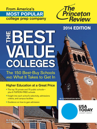 The Best Value Colleges, 2014 Edition by