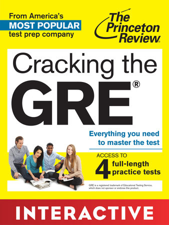 Cracking the GRE: Interactive  Prep & Review for the GRE Exam by Princeton Review