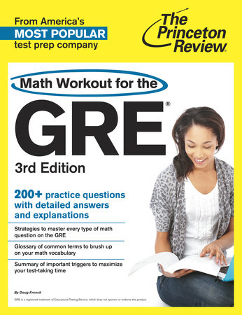 Math Workout for the GRE, 3rd Edition by Princeton Review