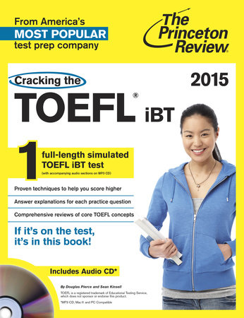 Cracking the TOEFL iBT with Audio CD, 2015 Edition