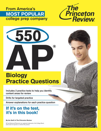 550 AP Biology Practice Questions by