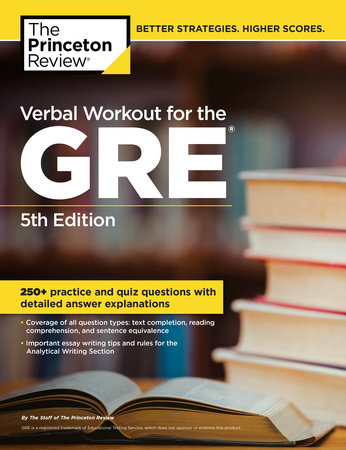 Verbal Workout for the GRE, 5th Edition by