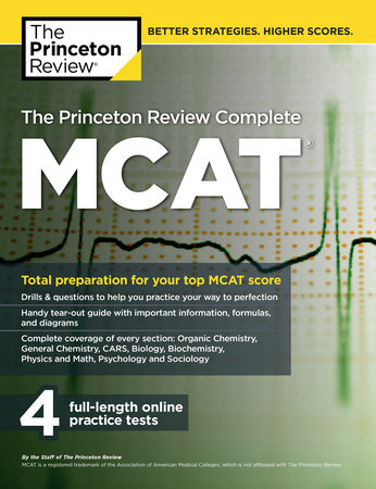 The Princeton Review Complete MCAT by Princeton Review