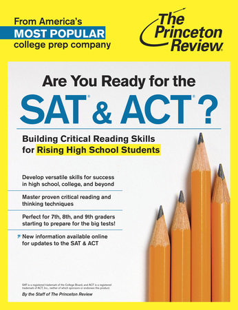 Are You Ready for the SAT & ACT? by Princeton Review