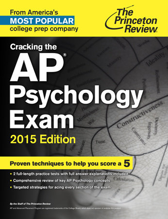 Cracking the AP Psychology Exam, 2015 Edition by Princeton Review