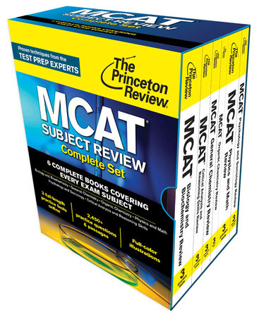 Princeton Review MCAT Subject Review Complete Box Set by Princeton Review
