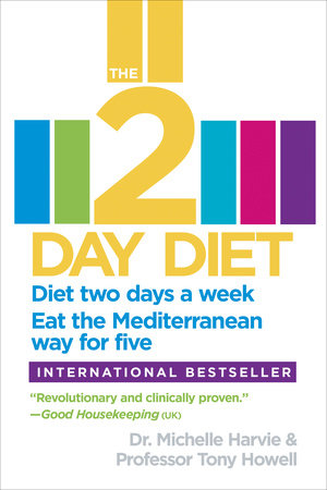 The 2-Day Diet by Dr. Michelle Harvie and Professor Tony Howell