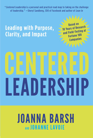Centered Leadership book cover