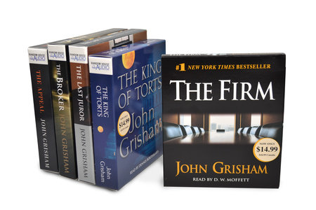 John Grisham CD Audiobook Bundle #1 by