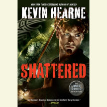Shattered: The Iron Druid Chronicles Cover