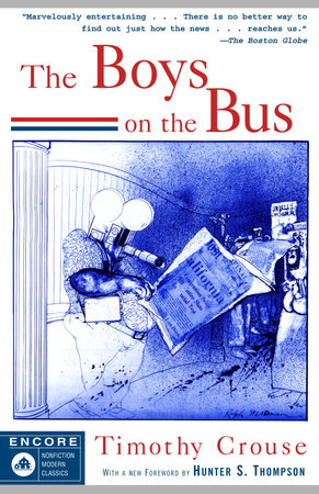 THE BOYS ON THE BUS by Timothy Crouse
