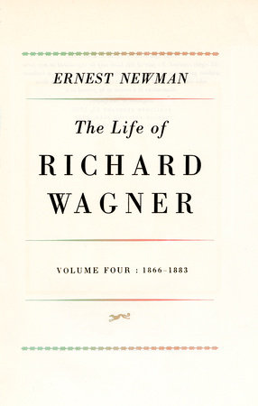 Life of R Wagner Vol 4 by
