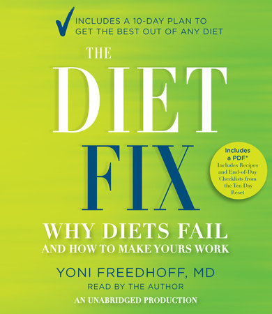 The Diet Fix by Yoni Freedhoff M.D.