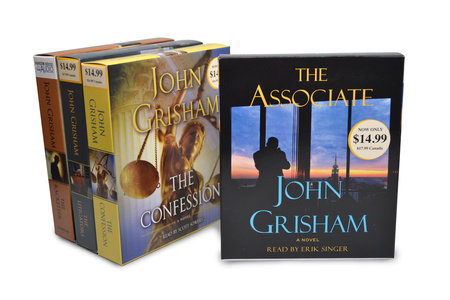 John Grisham CD Audiobook Bundle #2 by