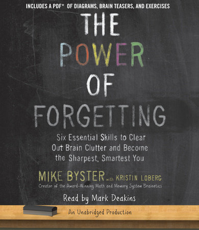 The Power of Forgetting by