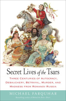 Secret Lives of the Tsars Cover