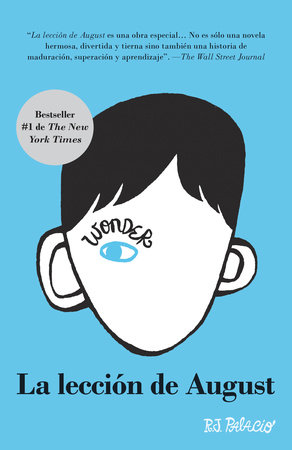 La lección de August by R. J. Palacio