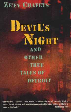 Devil's Night by Ze'ev Chafets