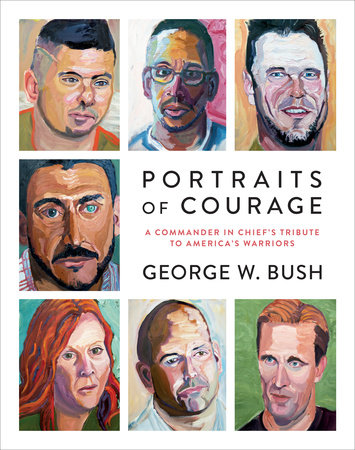 Portraits of Courage book cover