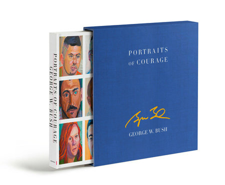 Portraits of Courage Deluxe Signed Edition book cover