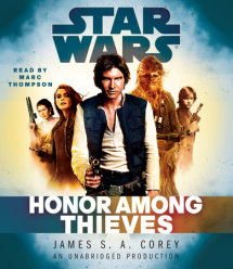 Honor Among Thieves: Star Wars Cover