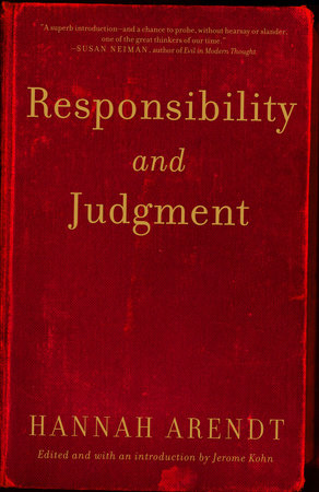 Responsibility and Judgment by