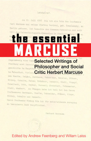 The Essential Marcuse by