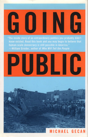 Going Public by Michael Gecan