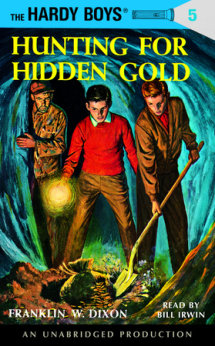 The Hardy Boys #5: Hunting for Hidden Gold Cover