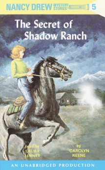 Nancy Drew #5: The Secret of Shadow Ranch Cover