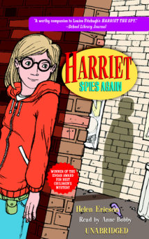 Harriet Spies Again Cover