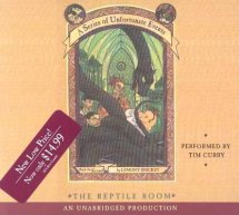 A Series of Unfortunate Events #2: The Reptile Room Cover