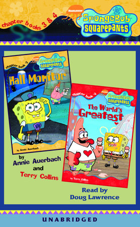 SpongeBob Squarepants: Chapter Books 3 & 4 by Terry Collins and Annie Auerbach
