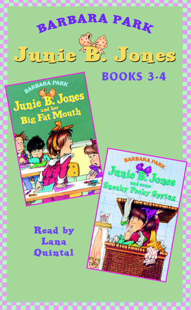 Junie B. Jones: Books 3-4 by Barbara Park