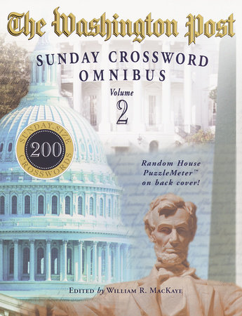 The Washington Post Sunday Crossword Omnibus, Volume 2 by William R. Mackaye