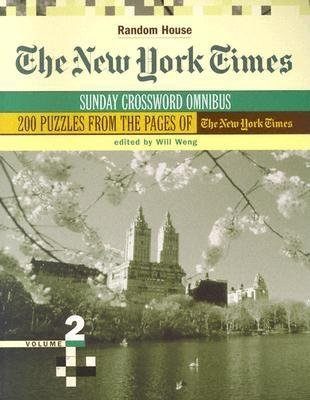 The New York Times Sunday Crossword Omnibus, Volume 2 by