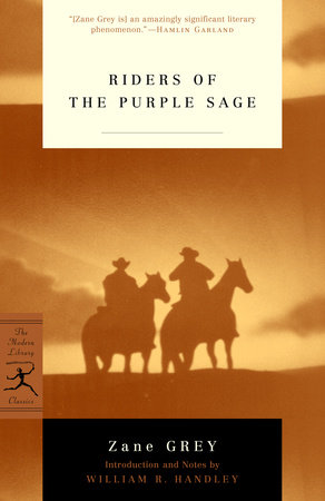 Riders of the Purple Sage by