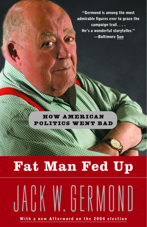 Fat Man Fed Up by
