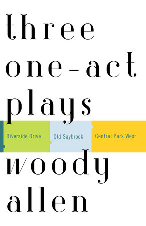 Three One-Act Plays by