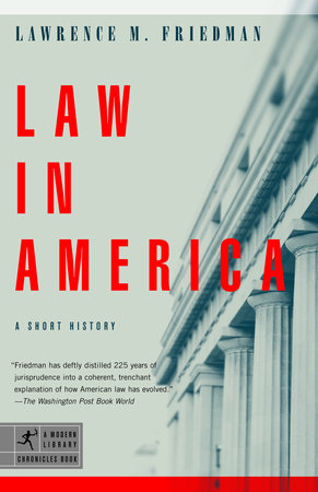 Law in America by