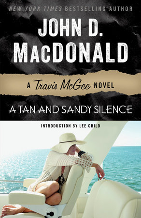 A TAN & SANDY SILENCE by John D. MacDonald