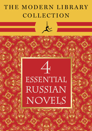 The Modern Library Collection Essential Russian Novels 4-Book Bundle by Leo Tolstoy and Fyodor Dostoevsky