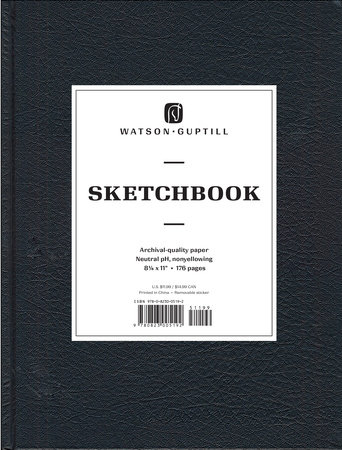 Large Sketchbook (Kivar, Black) by