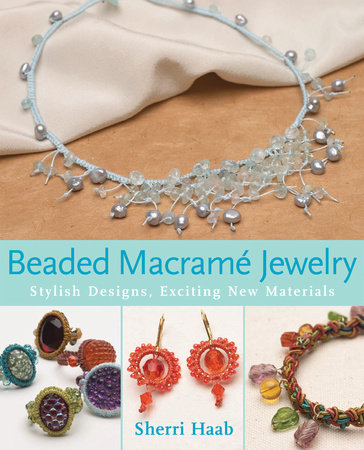 Beaded Macrame Jewelry by